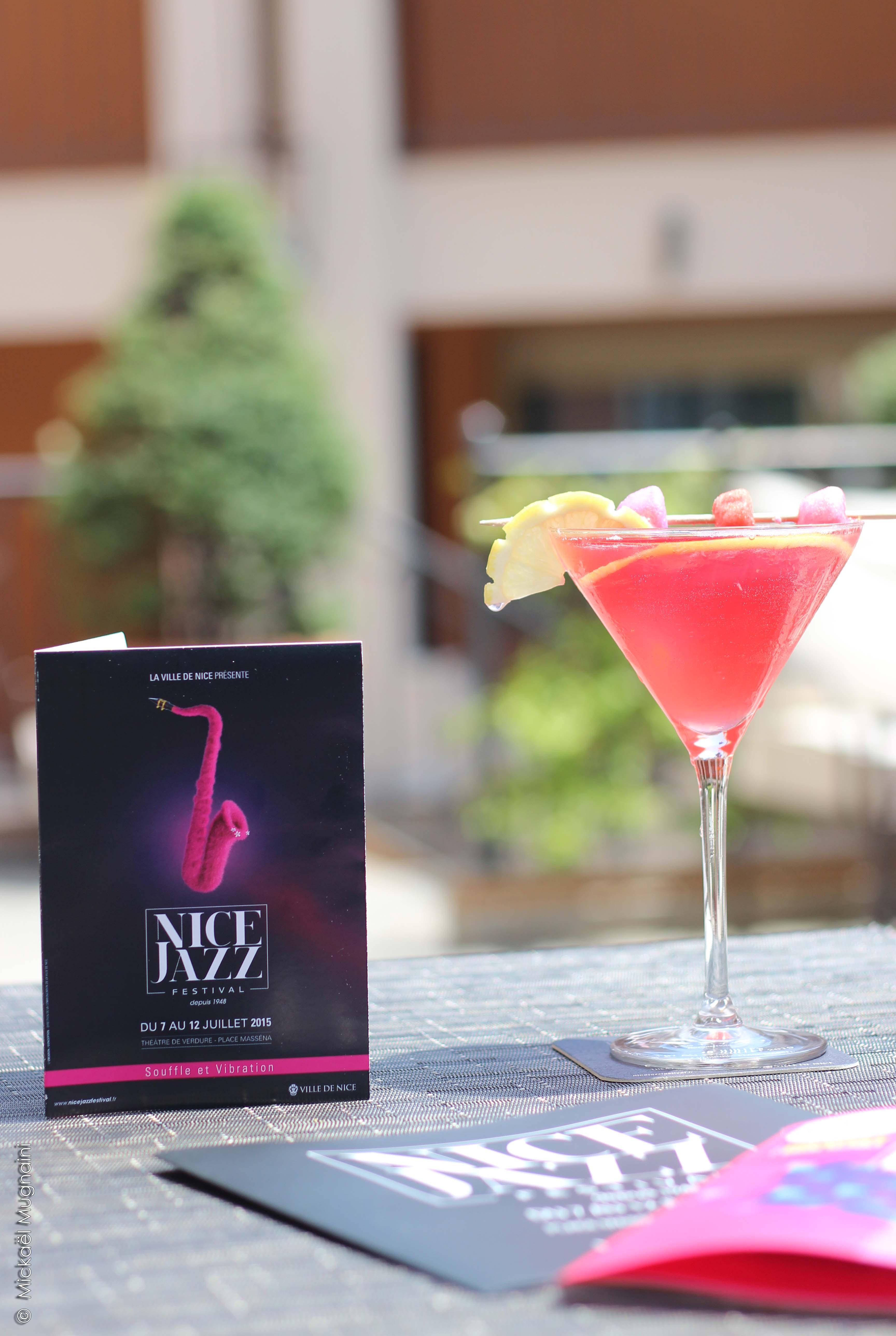 Nice Jazz Festival Cocktail - Hôtel Ellington Nice © Mickaël Mugnaini - Mister Riviera 2015